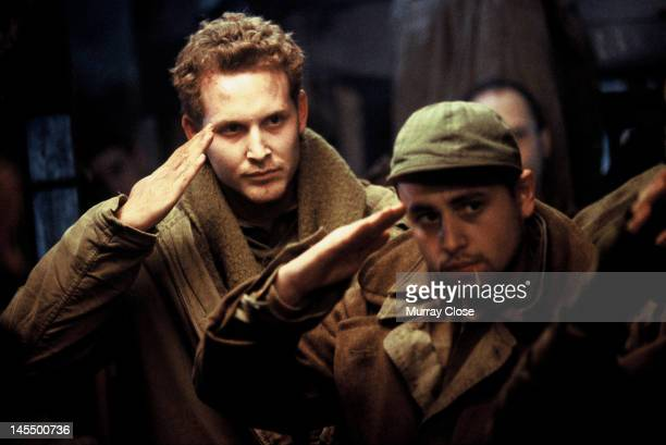 Actor Cole Hauser as Staff Sergeant Vic W Bedford in a scene from the film 'Hart's War' 2002