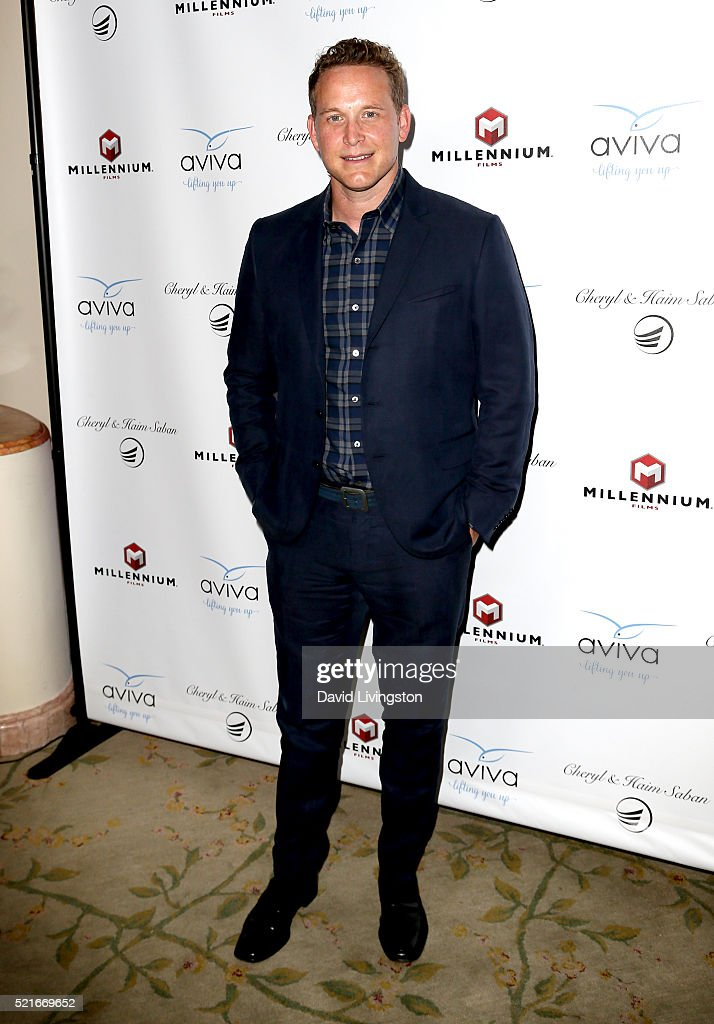Actor Cole Hauser attends A Gala to honor Avi Lerner and Millennium Films at The Beverly Hills Hotel on April 16, 2016 in Beverly Hills, California.