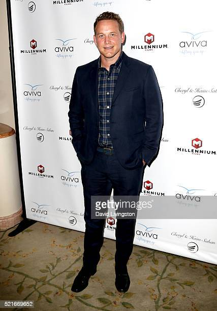 Actor Cole Hauser attends A Gala to honor Avi Lerner and Millennium Films at The Beverly Hills Hotel on April 16 2016 in Beverly Hills California