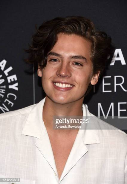 Actor Cole Sprouse arrives at the 2017 PaleyLive LA Spring Season Riverdale Screening and Conversation at The Paley Center for Media on April 27 2017...