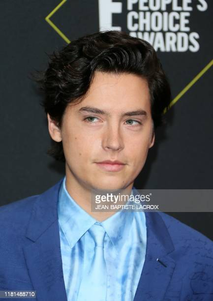 US actor Cole Sprouse arrives for the 45th annual E People's Choice Awards at Barker Hangar in Santa Monica California on November 10 2019