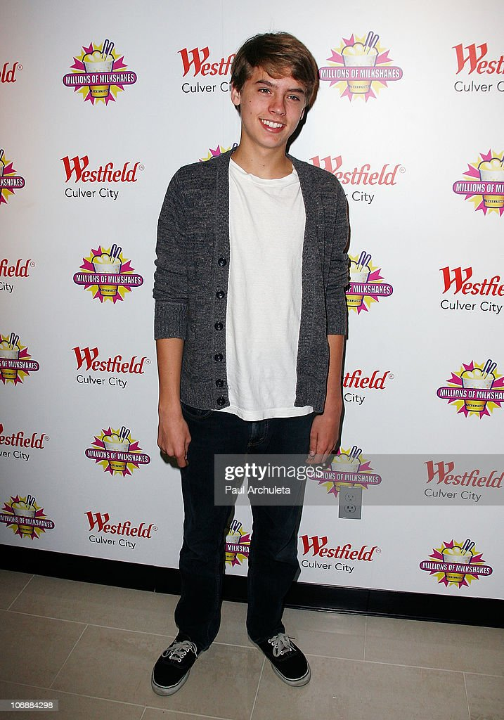 """""""The Suite Life On Deck"""" Stars Dylan And Cole Sprouse Charity Milkshake Launch : News Photo"""