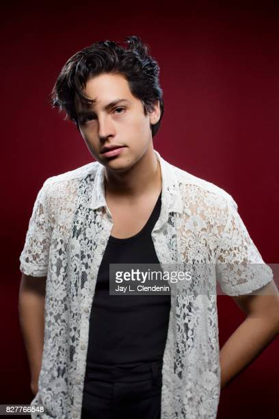 Actor Cole Sprouse from the television series Riverdale is photographed in the LA Times photo studio at ComicCon 2017 in San Diego CA on July 22 2017...