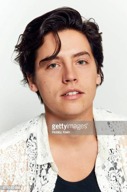 Actor Cole Sprouse of CW's 'Riverdale' poses for a portrait during ComicCon 2017 at Hard Rock Hotel San Diego on July 22 2017 in San Diego California