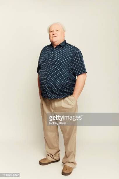 Actor Colin Baker previously of BBC's 'Classic Doctor Who' poses for a portrait during ComicCon 2017 at Hard Rock Hotel San Diego on July 20 2017 in...