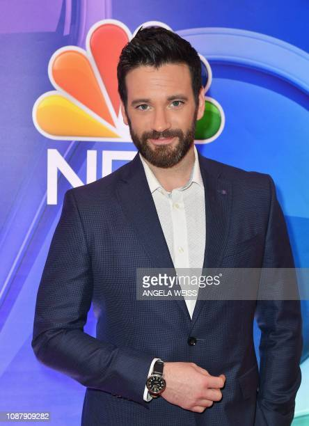 Actor Colin Donnell attends the NBC midseason press junket at The Four Seasons in New York on January 24 2019