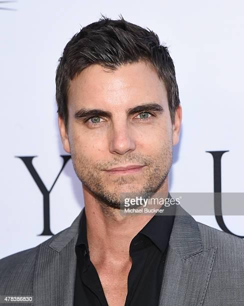 Actor Colin Eggelsfield attends the world premiere of UNITY at the DGA Theater on June 24 2015 in Los Angeles California