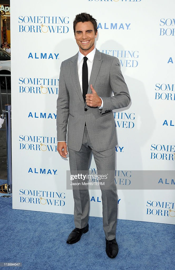 Actor Colin Egglesfield arrives at the premiere of Warner Bros. 'Something Borrowed' held at Grauman's Chinese Theatre on May 3, 2011 in Hollywood, California.
