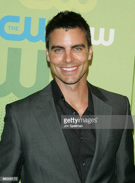 Actor Colin Egglesfield attends the 2009 The CW Network UpFront at Madison Square Garden on May 21 2009 in New York City