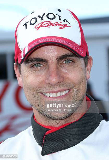 Actor Colin Egglesfield attends the 37th Annual Toyota Pro/Celebrity Race Practice Day on April 1 2014 in Long Beach California