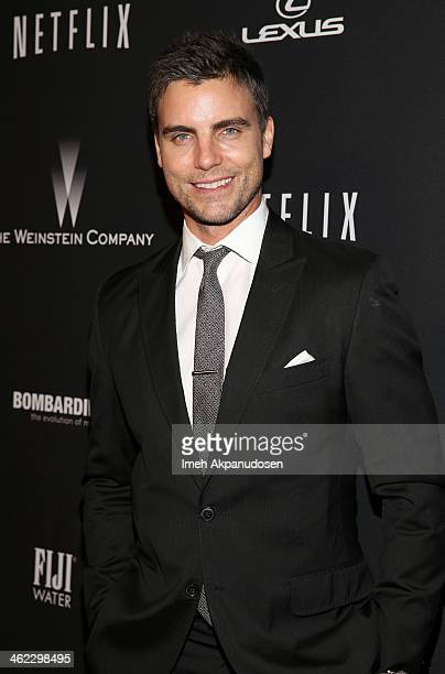 Actor Colin Egglesfield attends The Weinstein Company Netflix's 2014 Golden Globes After Party presented by Bombardier FIJI Water Lexus Laura Mercier...