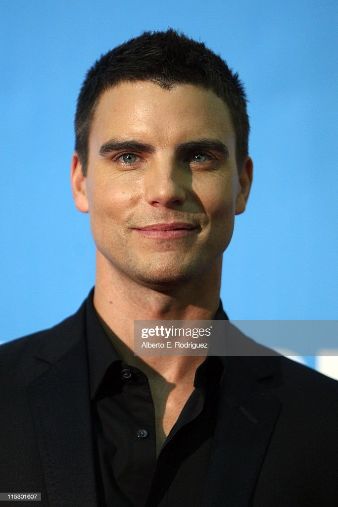 Actor Colin Egglesfield poses in the press room during the 36th Annual Daytime Emmy Awards at The Orpheum Theatre on August 30, 2009 in Los Angeles, California.