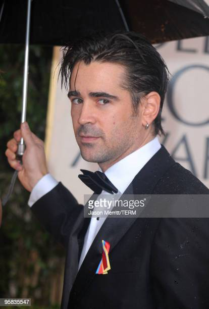 Actor Colin Farrell arrives at the 67th Annual Golden Globe Awards held at The Beverly Hilton Hotel on January 17 2010 in Beverly Hills California