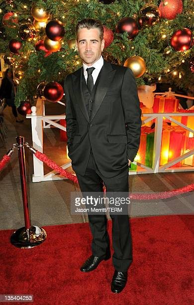 Actor Colin Farrell arrives at the American Giving Awards presented by Chase held at the Dorothy Chandler Pavilion on December 9, 2011 in Los...