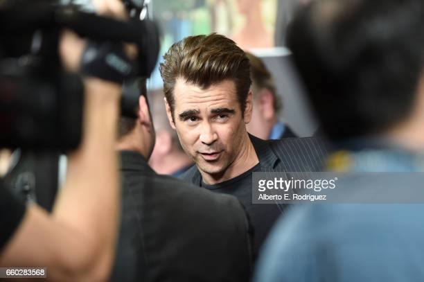 Actor Colin Farrell at CinemaCon 2017- Focus Features: Celebrating 15 Years and a Bright Future at Caesars Palace during CinemaCon, the official...