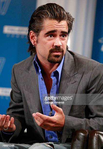 """Actor Colin Farrell at The 32nd Annual Toronto International Film Festival """"""""Cassandra's Dream"""" Press Conference at Sutton Place Hotel on September..."""