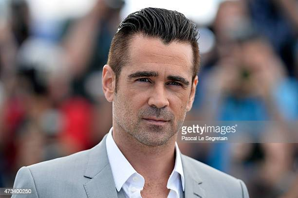 Actor Colin Farrell attends a photocall for 'The Lobster' during the 68th annual Cannes Film Festival on May 15 2015 in Cannes France