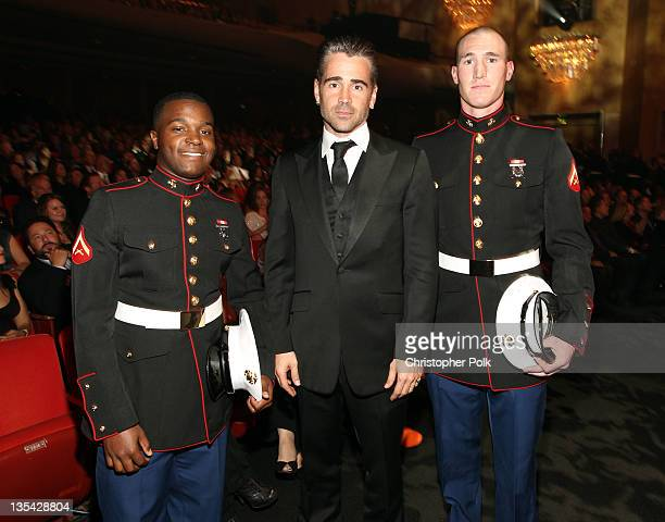 Actor Colin Farrell attends the American Giving Awards presented by Chase held at the Dorothy Chandler Pavilion on December 9, 2011 in Los Angeles,...