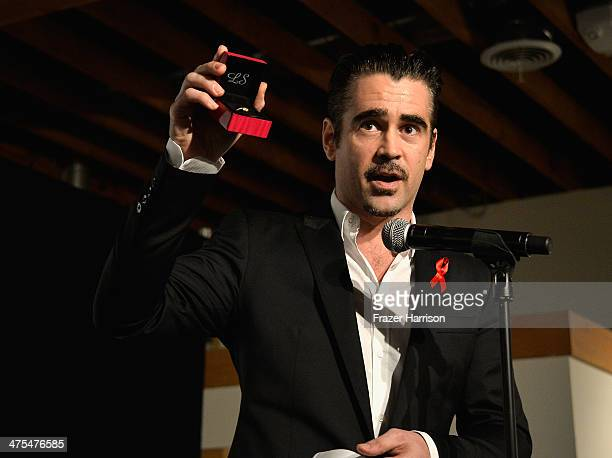 Actor Colin Farrell attends The Elizabeth Taylor AIDS Foundation Art Auction Benefit Presented By Wilding Cran Gallery on February 27 2014 in Los...