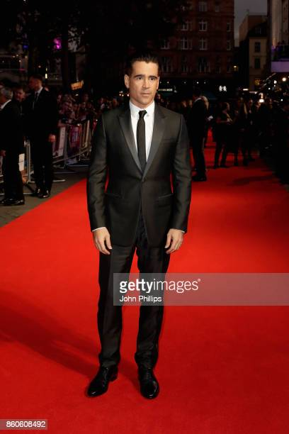 Actor Colin Farrell attends the Headline Gala Screening UK Premiere of Killing of a Sacred Deer during the 61st BFI London Film Festival on October...