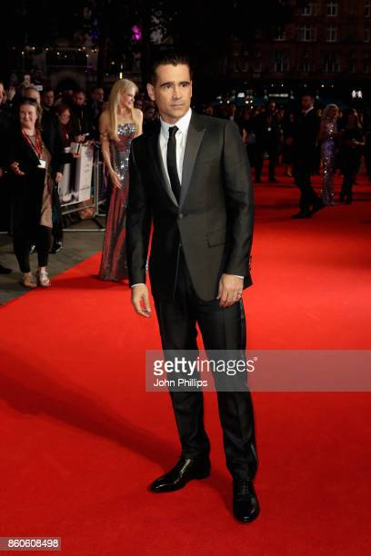 Actor Colin Farrell attends the Headline Gala Screening UK Premiere of 'Killing of a Sacred Deer' during the 61st BFI London Film Festival on October...