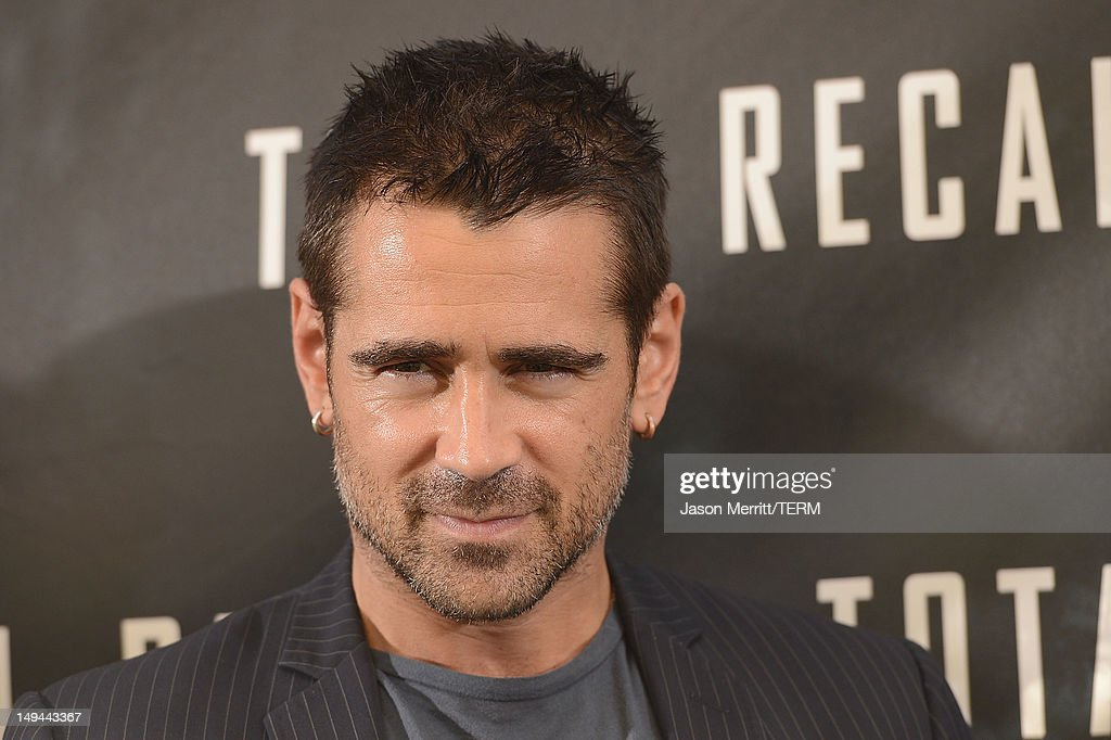 Actor Colin Farrell attends the photo call for Columbia Pictures' 'Total Recall' held at the Four Seasons Hotel on July 28, 2012 in Los Angeles, California.