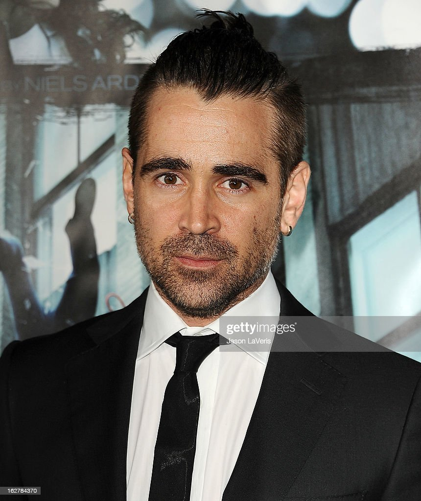 Actor Colin Farrell attends the premiere of 'Dead Man Down' at ArcLight Cinemas on February 26, 2013 in Hollywood, California.