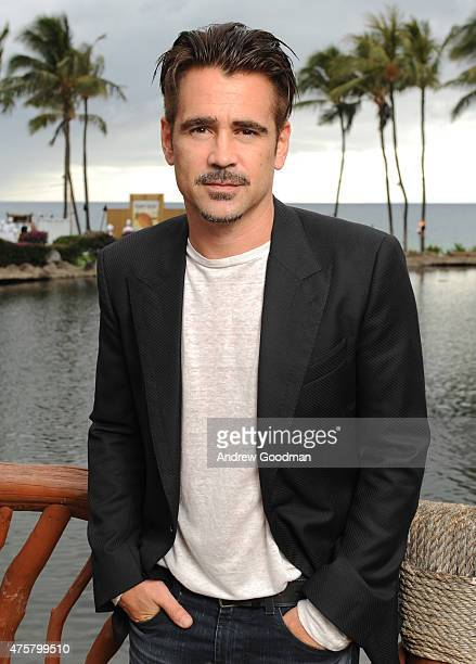 Actor Colin Farrell attends the Taste of Summer Opening Night Party during the 2015 Maui Film Festival at Grand Wailea on June 3 2015 in Wailea Hawaii