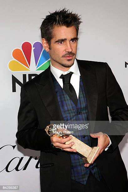Actor Colin Farrell attends the Universal and Focus Features After Party for the 66th Annual Golden Globe Awards held at the Beverly Hilton Hotel on...