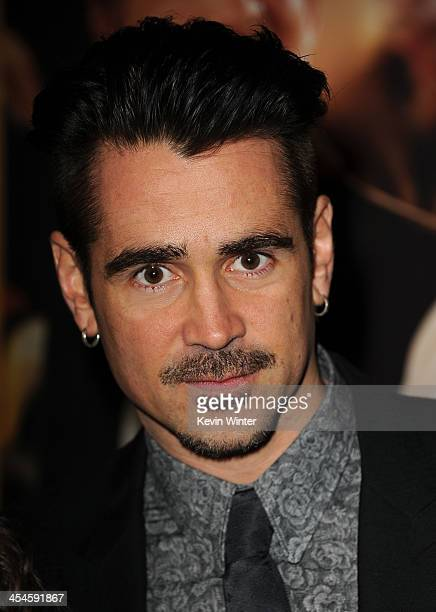 Actor Colin Farrell attends the US premiere at the Walt Disney Studios of Disney's Saving Mr Banks the untold backstory of how the classic film Mary...