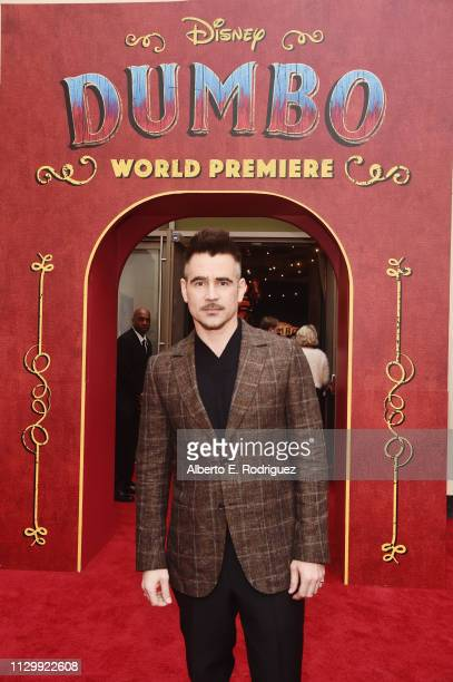Actor Colin Farrell attends the World Premiere of Disney's Dumbo at the El Capitan Theatre on March 11 2019 in Los Angeles California