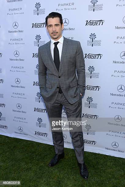 Actor Colin Farrell attends Variety's Creative Impact Awards and 10 Directors to Watch brunch presented by MercedesBenz at The 25th Annual Palm...