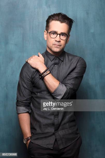 Actor Colin Farrell from the film Killing of a Sacred Deer poses for a portrait at the 2017 Toronto International Film Festival for Los Angeles Times...