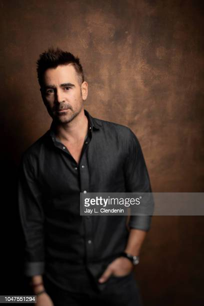 Actor Colin Farrell from 'Widows' is photographed for Los Angeles Times on September 8 2018 in Toronto Ontario PUBLISHED IMAGE CREDIT MUST READ Jay L...