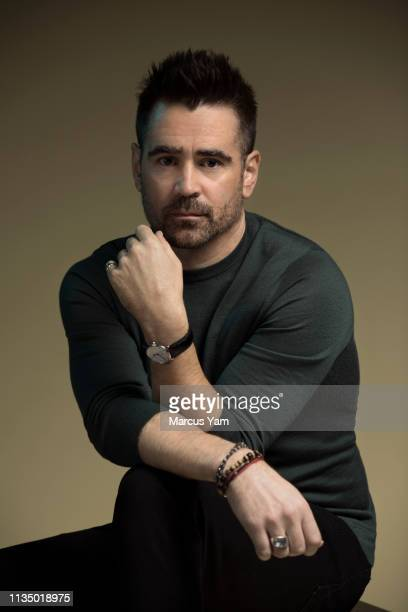 Actor Colin Farrell is photographed for Los Angeles Times on March 10, 2019 in Beverly Hills, California. PUBLISHED IMAGE. CREDIT MUST READ: Marcus...
