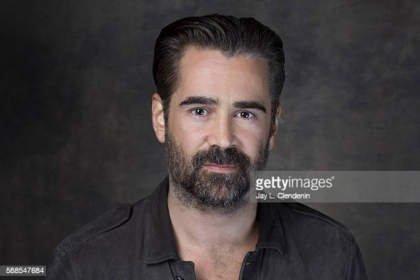 Actor Colin Farrell of 'Fantastic Beasts and Where to Find Them' is photographed for Los Angeles Times at San Diego Comic Con on July 22 2016 in San...