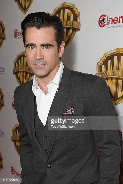 "Actor Colin Farrell of 'The Lego Batman Movie' attends CinemaCon 2016 Warner Bros Pictures Invites You to ""The Big Picture"" an Exclusive Presentation..."