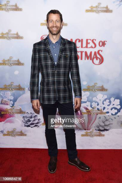 Actor Colin Ferguson arrives at the Hallmark Channel 'Once Upon A Christmas Miracle' screening and holiday party at 189 by Dominique Ansel on...