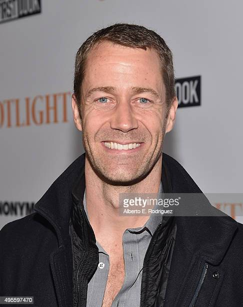 "Actor Colin Ferguson attends a special screening of Open Road Films' ""Spotlight"" at The DGA Theater on November 3, 2015 in Los Angeles, California."