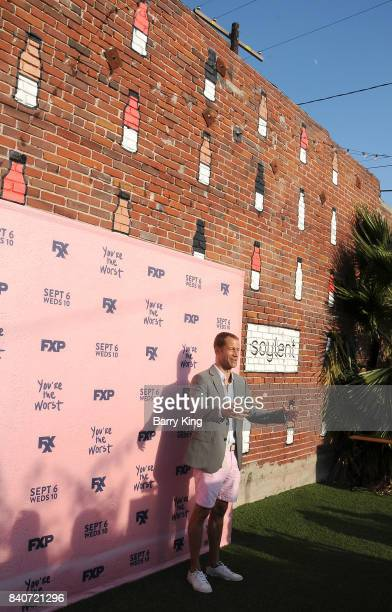 Actor Colin Ferguson attends the premiere of FXX's 'You're The Worst' Season 4 at Museum of Ice Cream LA on August 29 2017 in Los Angeles California