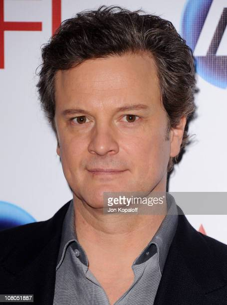 Actor Colin Firth arrives at the 2011 AFI Awards at The Four Seasons Hotel on January 14, 2011 in Beverly Hills, California.