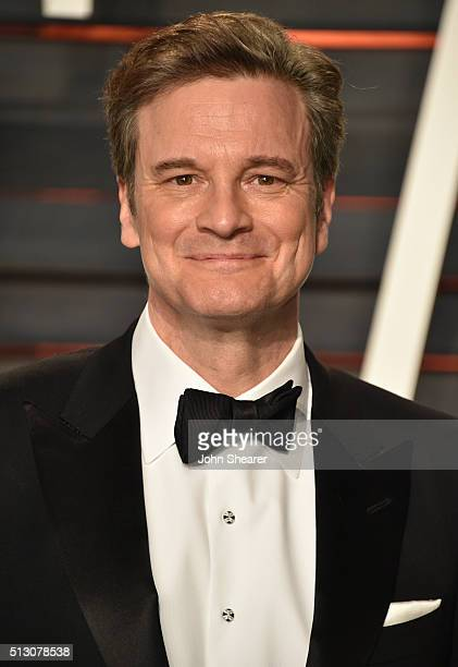 Actor Colin Firth arrives at the 2016 Vanity Fair Oscar Party Hosted By Graydon Carter at Wallis Annenberg Center for the Performing Arts on February...