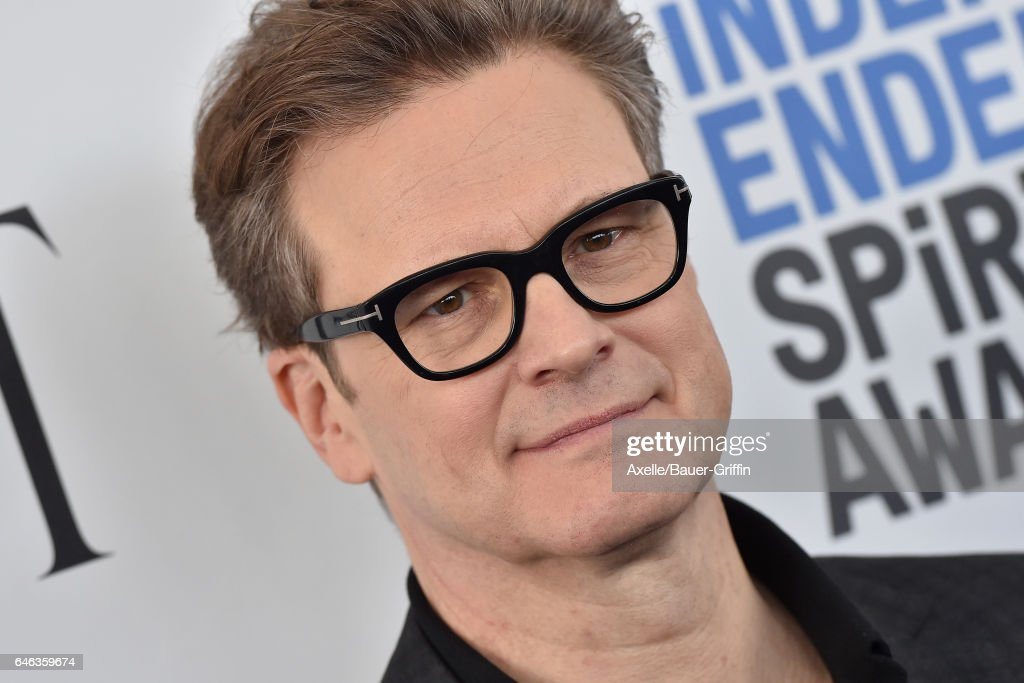 Actor Colin Firth arrives at the 2017 Film Independent Spirit Awards on February 25, 2017 in Santa Monica, California.