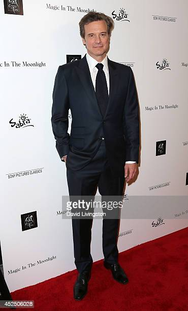 Actor Colin Firth attends a screening of Sony Pictures Classics' 'Magic in the Moonlight' at the Linwood Dunn Theater at the Pickford Center for...