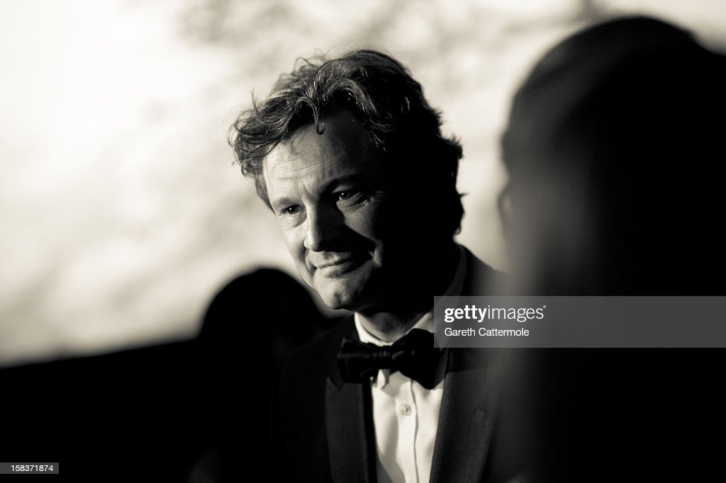 Actor Colin Firth attends the 2012 Dubai International Film Festival, Dubai Cares and Oxfam 'One Night to Change Lives' Charity Gala at the Armani Hotel on December 14, 2012 in Dubai, United Arab Emirates.