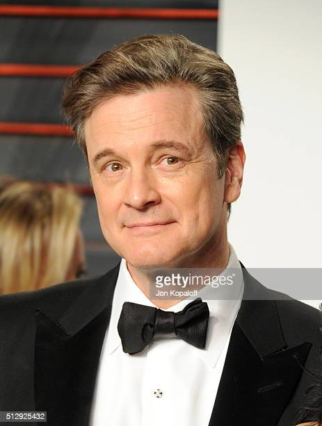 Actor Colin Firth attends the 2016 Vanity Fair Oscar Party hosted By Graydon Carter at Wallis Annenberg Center for the Performing Arts on February 28...