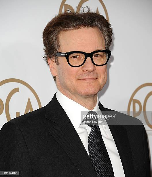Actor Colin Firth attends the 28th annual Producers Guild Awards at The Beverly Hilton Hotel on January 28 2017 in Beverly Hills California