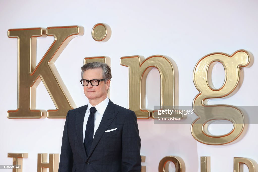 Actor Colin Firth attends the 'Kingsman: The Golden Circle' World Premiere held at Odeon Leicester Square on September 18, 2017 in London, England.