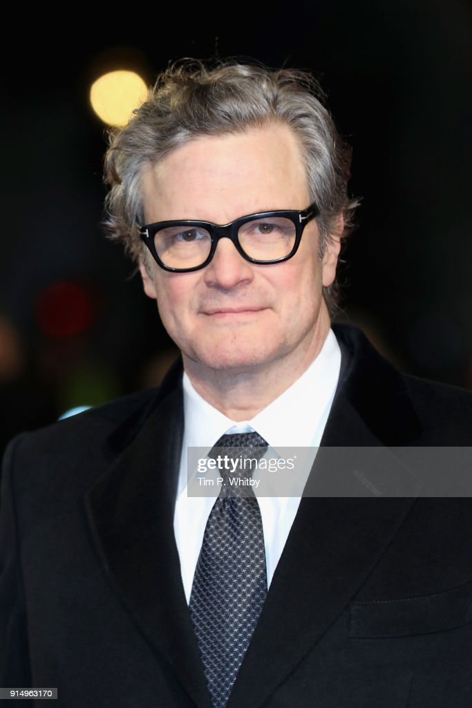 Actor Colin Firth attends 'The Mercy' World Premiere at The Curzon Mayfair on February 6, 2018 in London, England.