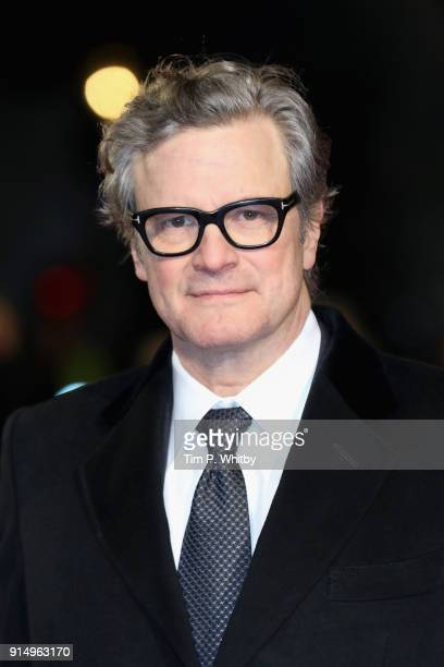 Actor Colin Firth attends 'The Mercy' World Premiere at The Curzon Mayfair on February 6 2018 in London England